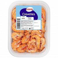 Crevette rose cuite 60/80 500g cora