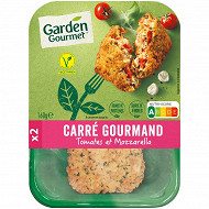 "Herta ""le bon végétal"" Carré Gourmand tomates & mozzarella 160g"