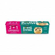 Bonta Divina bonta'alla vaniglia 2x90g +1 offert