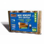 Woodstock bois densifié - Pack de 5 bûches 9.65kg