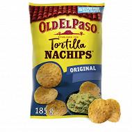 Old el paso chips std crunchy nachips 185g