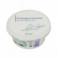 Fromage à tartiner ail et fines herbes 150g