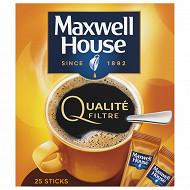 Maxwell House qualité filtre normal 25 sticks 45g