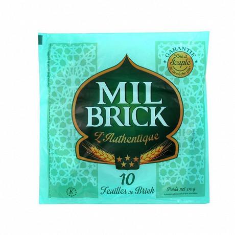 Mil brick feuilles de brick tunisienne x10 170g