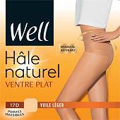 Collant hale naturel ventre plat x1 WELL BLUSH T4