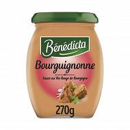 Bénédicta sauce bourguignonne bocal 270g