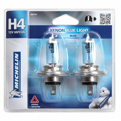 Michelin 2 H4 blue light 60/55