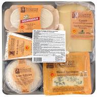 Patrimoine Gourmand plateau composé de 5 fromages 775 g