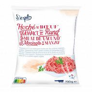 Hachée au boeuf viande VBF (70%) 20% mg 700g