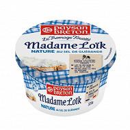 Paysan breton le fromage fouetté Mme Loïk nature au sel de Guérande 320g