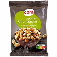 Cora pistaches poivre et sel 125g