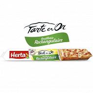 Herta Tarte en or feuilletée rectangulaire 230g