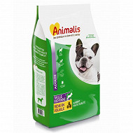 Animalis croquettes chien adulte moyenne taille 12kg
