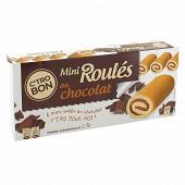 Mini roulés au chocolat 6x25g