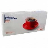 Café moulu robusta 4x250g
