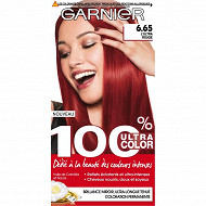 100% ultra color access coloration N°6.65 ultra rouge