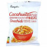Cacahuètes grillées et salées 250g