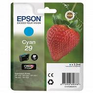 Epson Cartouche d'encre T2982 Fraise Cyan