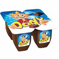 Dany chocolat 4x100g