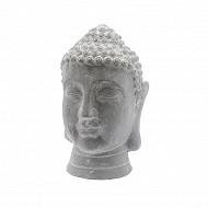Tête bouddha dim 20xh30cm en bêton