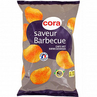 Cora chips saveur barbecue 135g