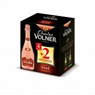 Charles volner rosé 12% vol 4 x 75cl + 2 offertes