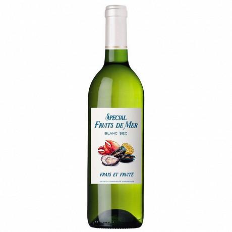 Vce blanc sec spécial fruits de mer 75cl 11% Vol.