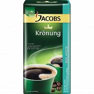 Jacobs Krönung Balance café moulu mi-classique mi-décaféiné 500g