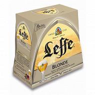 Leffe blonde 6.6% vol 6 x 25cl