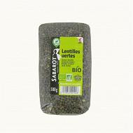 Lentilles vertes bio 500g