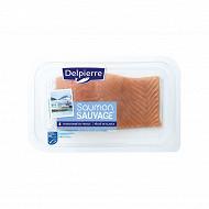 2 pavés de saumon sauvage Delpierre 240g