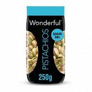 Wonderful Pistachios non salées 250g