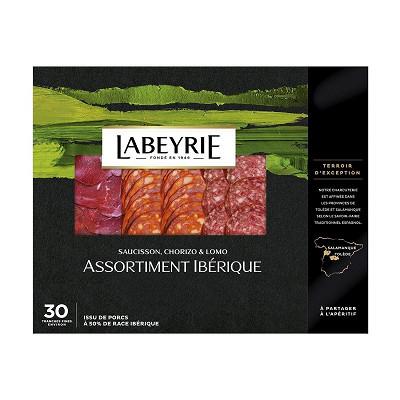 Labeyrie Labeyrie assortiment pata negra saucisson, chorizo & lomo 110g