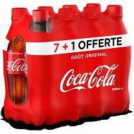 Cola-Cola pet 8x50cl 7+1offert