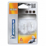 Michelin ampoules voiture 2 wedge base W3W