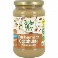 Jardin bio beurre de cacahuetes bio 350g