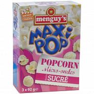 Menguy's pop corn micro-ondes sucré 3x92g