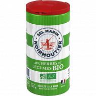 Ile de Noirmoutier sel fin herbes et légumes bio 250g