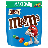 M&M's Crispy bonbon chocolat 340g