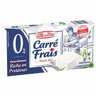 Carré Frais nature 0% 8 portions 200g