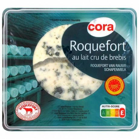 Cora roquefort AOP tranche 150g