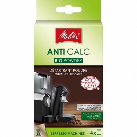 Melitta Détartrant bio pour machines à expresso poudre 4x40g ANTI CALC BIO POWDER