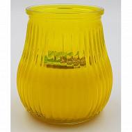 Cora bougie citronnelle dans un verre