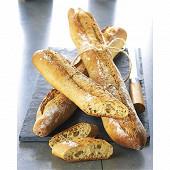 Cora dégustation Baguette multigraines 3+1