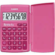 Casio calculatrice primaire petite fx rose