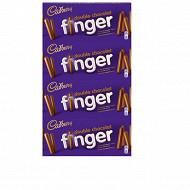 Cadbury finger double chocolat x4 456g