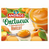 Andros onctueux spécialité d'abricots et de pêches 4x97g
