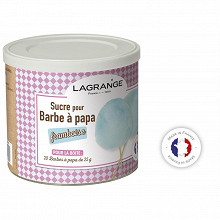 Lagrange sucres  pour barbe a papa framboise 500g 380008