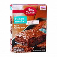 Betty crocker préparation pour brownies 519g