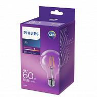 Philips ampoule LED filament E27 - 6w équivalent 60 watts